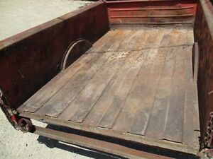 Studebaker Truck Box 1950 S Solid Original Hot Rat Rod Chevy Ford Gmc Dodge