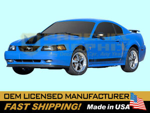 Compatible With 2003 2004 Mustang Mach 1 Hood or Lower Fade Stripes Decals