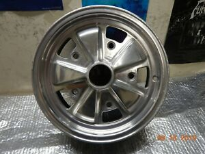 Wide 5 Vintage Single 15 X 5 5 Vw Porsche Alloy Used Wheel Bug Thing Oval Empi