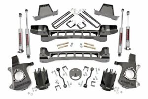 Rough Country 6 Lift Kit Fits 1999 2006 Chevy Silverado Sierra 2wd W n3 Shocks