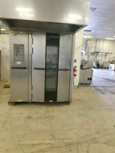Baxter Ov500g2 Year 2010 Gas Rotating Double Rack Oven Gas