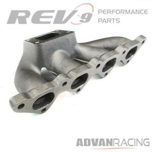 Rev9 mf 028 Cast Turbo Manifold T3 Flange 2 Bolt Wastegate Flange 35 38mm