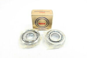 Box Of 2 Nsk 25tac62bdfc10pn7a Ballscrew Support Bearing 25mm 62mm 15mm