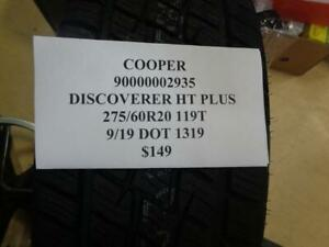 1 New Cooper Discoverer Ht Plus 275 60 20 119t Tire Wo Label 90000002935 Q9