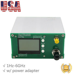 Frequency Counter 1hz 6ghz Frequency Meter 11 Bits sec Power Adapter Us
