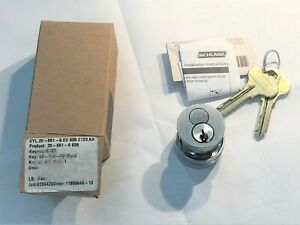 Schlage 20 061 6 626 Mortise Cylinder Interchangeable Core Nib