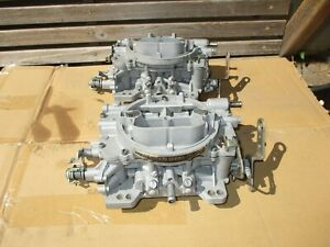 Vintage Carter Afb Carburetors Carbs 750 Cfm 2x4 Tunnel Ram Dual Quad 4760s