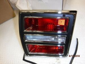 New 1968 Dodge Dart Tail Lamp Light Assy Left Hand Lens Bezel Housing Gt Gts Gta