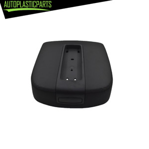 Black Center Console Armrest Lid Cover For Cadillac Chevy Gmc Pickup Truck Suv