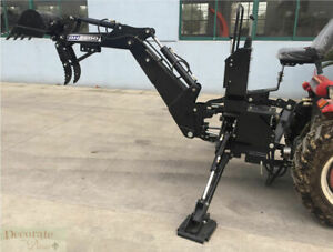 Backhoe Tractor Attachment Bh5600 Bucket Pto 3 Pt Link Excavator Hydraulic New