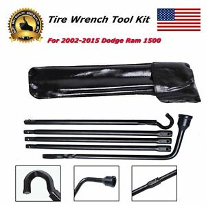 For 2002 2015 Dodge Ram 1500 Auto Car Spare Tire Tool Tools Parts Accessories
