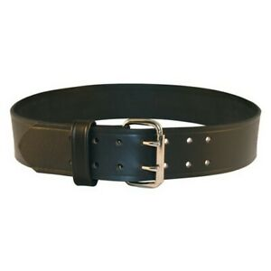 Boston Leather 6503 1 42 Explorer Duty Belt 2 25 Plain nickel Buckle