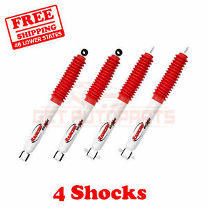 Kit Of 4 Rancho Front Rear Rs5000x Gas Shocks For Ford Ranger 4wd 98 11
