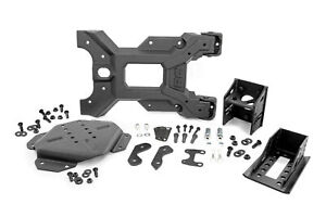 Rough Country Hd Spare Tire Carrier Kit Fits 2007 2018 Jeep Wrangler Jk