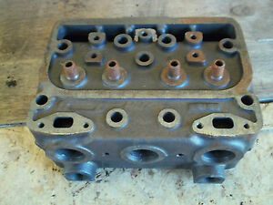 Nos Case Tractor Diesel Cyl Head A6320a 400 500 600 700 800 900 New Old Stock