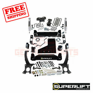 Superlift 6 Lift Kit For Toyota Tundra 4wd With Superlift Shocks 2007 2020