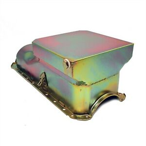 65 90 Big Block Chevy 454 Zinc Drag Race Style 6qt Oil Pan 396 402 427 Bbc