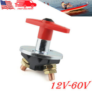 12v Battery Isolator Disconnect Car Truck Boat Cut Off Power Kill Switch