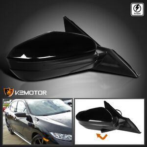 Passenger Right For 2016 2018 Honda Civic Factory Style 3 pin Power Side Mirror