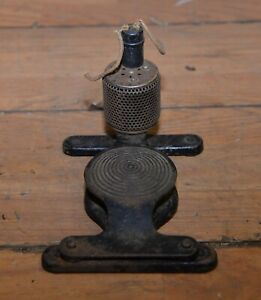 Antique Electric Sewing Machine Or Lathe Cast Iron Foot Pedal Switch Collectible