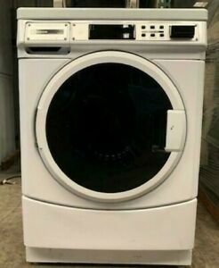 Maytag Commercial Front Load Washer Mhn30prbww0 Double Load Opl used