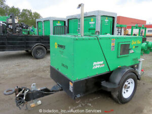 2011 Gorman rupp Pa4e71c 3tnv88 su 4 Towable Diesel Water Prime Aire Quiet Pump