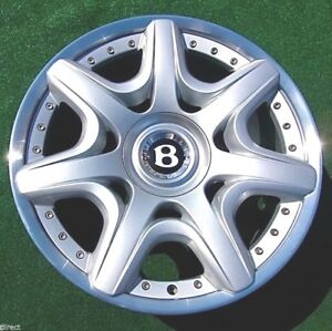 Factory Bentley Continental Mulliner Wheel 20 Inch Oem Gtc Flying Spur Perfect