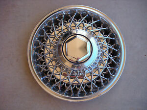 15 1979 1980 1981 1982 1983 1989 Chrysler 5th Avenue Wire Hub Cap Wheel Cover