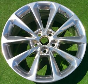 Perfect Factory Cadillac Xts Polished Wheel 2013 2014 Genuine Gm Oem 19 In 4696