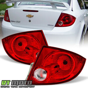 2005 2010 Chevy Cobalt 4dr Sedan Pontiac G5 Tail Lights Brake Lamps Left Right