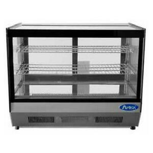 Atosa Crds 56 5 6 Cu Ft Countertop Refrigerated Display Case