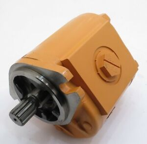 New Hydraulic Gear Pump Fits Case Skid Steer 1845c Part 874138471840