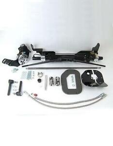 Unisteer 1957 1959 Ford Full Size Car Power Rack Pinion Kit Sbf In Stock 8011430