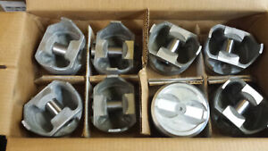 L2403f 030 Over Forged Pistons 350 Chevy Dished Set Of 8