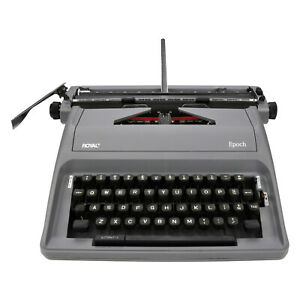 Royal 79103y Epoch Manual 88 character Typewriter Gray