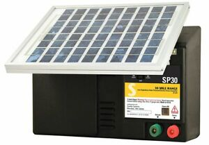 Zareba Esp30m z 30 mile Solar powered Low impedance Electric Fence Charger