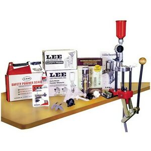 Lee's Reloading 90304 Classic 4 Hole Turret Press Kit wCase Conditioning Kit