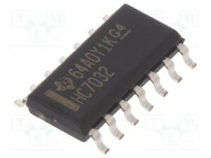 Ic Digital Or Smd Inputs 2 So14 Series Hc Channels 4 2 6vdc Sn74hc7032d