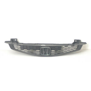 Front Grille Black For Honda Civic 2012 2013 Ex Lx Coupe