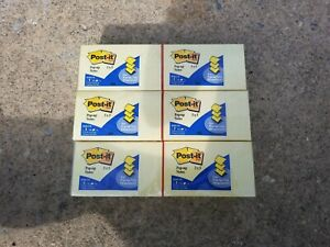 Post it Pop up Sticky Note R350 yw 3x5 inches Yellow Lot X 3