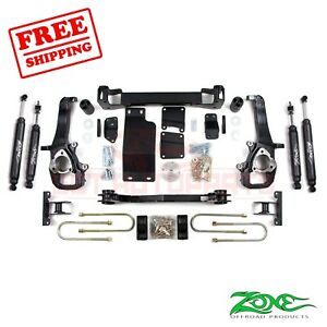 Zone Offroad 5 Lift Kit For 2002 2005 Dodge Ram 1500 4wd