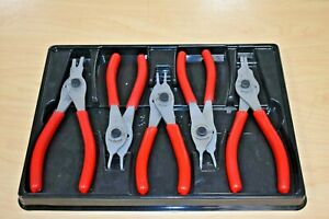 Snap On Srpc105 5 Pc Convertible Snap Ring Plier Set Free Shipping