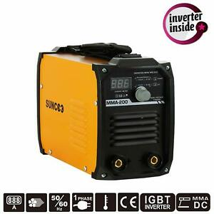 Mini Handheld Mma200 Amp Stick Welding Machine Igbt 110v 220v Dc Inverter Welder