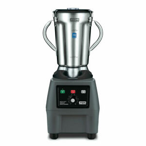 New Waring Commercial Cb15v Heavy Duty 1 Gallon Blender Stainless