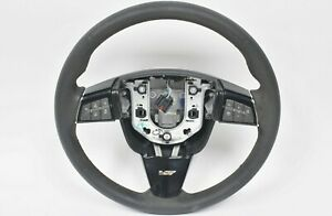2009 2014 Cadillac Cts V Oem 6 Speed Manual Suede Steering Wheel Used Oem Gm