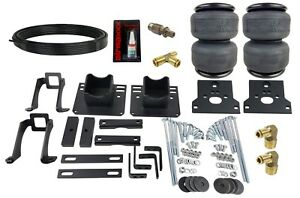 Air Bag Helper Springs Kit W 4 Ply Airbags No Drill For 05 10 Ford F250 F350 2wd