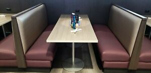 Commercial Restaurant Style Booth Seating Excellent Condition