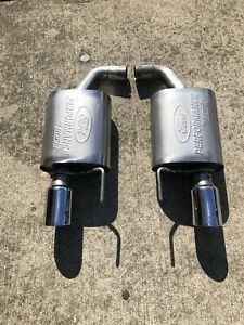 2015 2017 Mustang 2 3 Turbo Ford Racing Borla Axle Back Sport Exhaust System