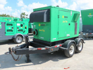 2012 Gorman rupp Pa6d 6 X 6 Towable Water Pump Deere Diesel Prime Aire Bidadoo