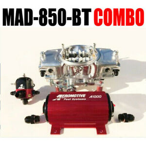 Mighty Demon Mad 850 bt Ann Mechanical Blow Thru Carb Pump Reg Combo Free Hat